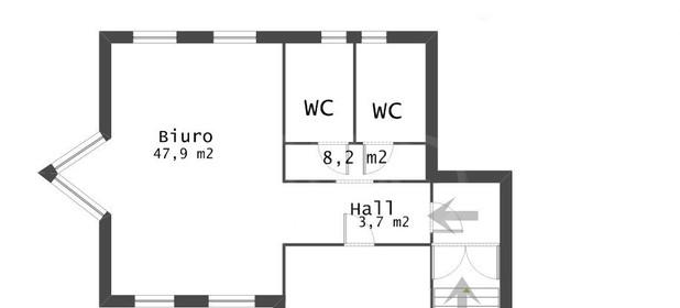 Lokal biurowy do wynajęcia 71 m² Gdynia Śródmieście Jana Z Kolna - zdjęcie 1