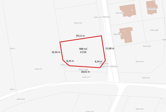 Morizon WP ogłoszenia | Działka na sprzedaż, Gdańsk Straszyńska, 988 m² | 7413