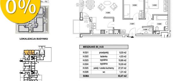 Mieszkanie na sprzedaż 63 m² Szczecin Centrum - zdjęcie 2