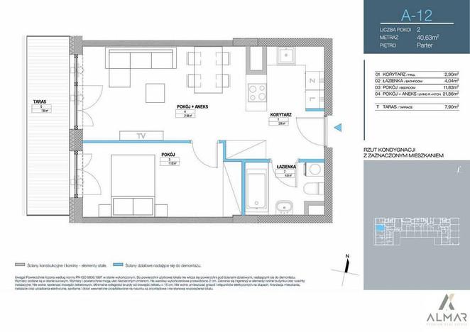 Morizon WP ogłoszenia | Mieszkanie na sprzedaż, Warszawa Mokotów, 41 m² | 7866