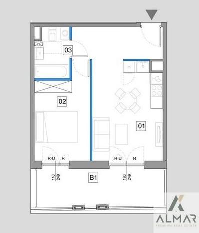 Morizon WP ogłoszenia | Mieszkanie na sprzedaż, Warszawa Mokotów, 42 m² | 7158