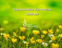 Morizon WP ogłoszenia | Działka na sprzedaż, Gniewniewice Folwarczne, 1000 m² | 1425
