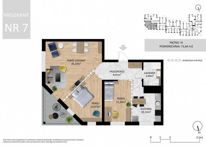 Morizon WP ogłoszenia   Mieszkanie na sprzedaż, Lublin Wrotków, 72 m²   5513