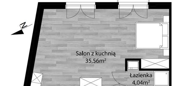 Mieszkanie na sprzedaż 40 m² Kraków Podgórze Podgórze Stare - zdjęcie 1
