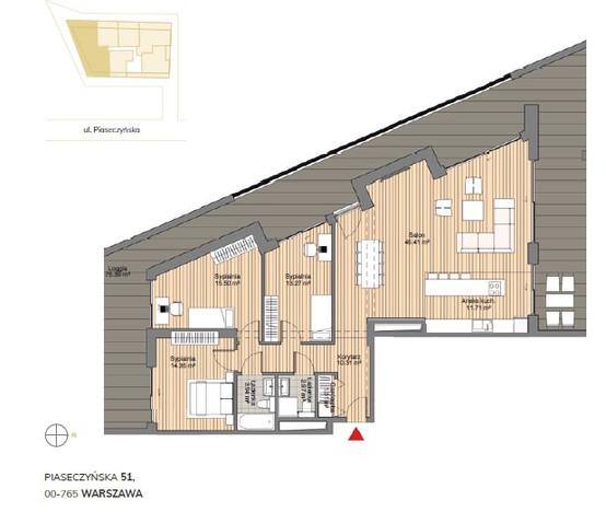 Morizon WP ogłoszenia | Biuro na sprzedaż, Warszawa Sielce, 119 m² | 1412