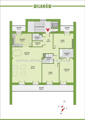 Morizon WP ogłoszenia | Mieszkanie na sprzedaż, Warszawa Powsinek, 148 m² | 5255