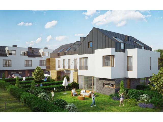Morizon WP ogłoszenia | Dom w inwestycji Cicha Łąka - segmenty, Józefosław, 91 m² | 6893