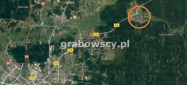 Działka na sprzedaż 750 m² Białostocki Supraśl - zdjęcie 3