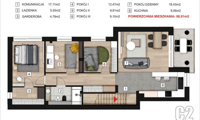 Mieszkanie na sprzedaż <span>Tarnogórski (pow.), Tarnowskie Góry, Śródmieście-Centrum</span>