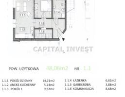 Morizon WP ogłoszenia | Mieszkanie na sprzedaż, Bielsko-Biała, 48 m² | 0528
