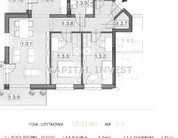 Morizon WP ogłoszenia | Mieszkanie na sprzedaż, Bielsko-Biała, 68 m² | 0529
