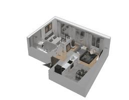 Morizon WP ogłoszenia | Mieszkanie w inwestycji KW51, Kraków, 35 m² | 1233