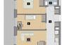 Morizon WP ogłoszenia | Mieszkanie w inwestycji KW51, Kraków, 49 m² | 1231