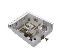 Morizon WP ogłoszenia | Mieszkanie w inwestycji KW51, Kraków, 32 m² | 1202