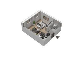 Morizon WP ogłoszenia | Mieszkanie w inwestycji KW51, Kraków, 30 m² | 1284