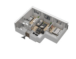 Morizon WP ogłoszenia | Mieszkanie w inwestycji KW51, Kraków, 42 m² | 1209