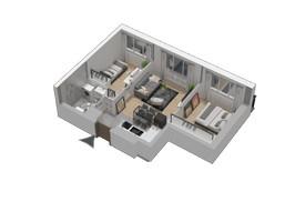 Morizon WP ogłoszenia | Mieszkanie w inwestycji KW51, Kraków, 42 m² | 1223