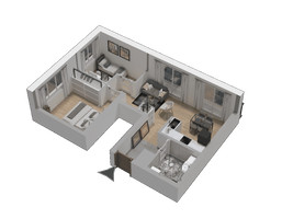 Morizon WP ogłoszenia | Mieszkanie w inwestycji KW51, Kraków, 44 m² | 1227