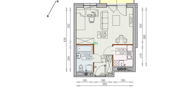 Mieszkanie na sprzedaż 34 m² Wrocław M. Wrocław Śródmieście Wyszyńskiego - zdjęcie 2