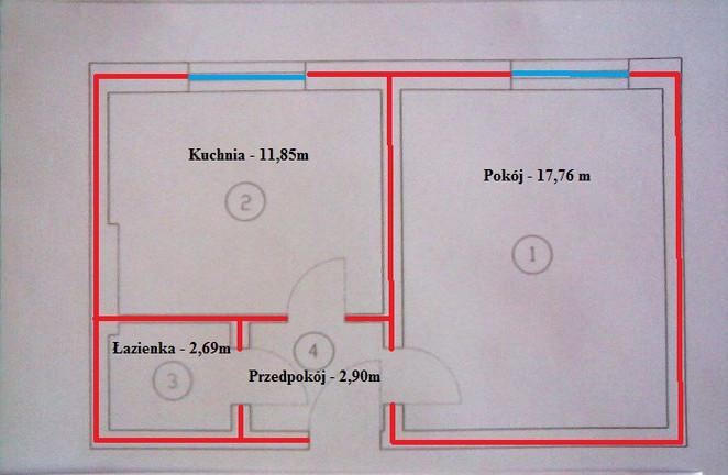 Morizon WP ogłoszenia | Kawalerka na sprzedaż, Zabrze Centrum, 35 m² | 6849