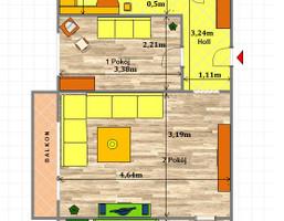 Morizon WP ogłoszenia | Mieszkanie na sprzedaż, Gliwice Trynek, 48 m² | 3963