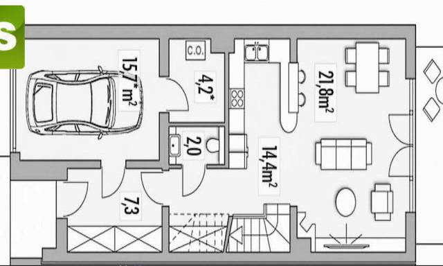 Dom na sprzedaż <span>Gliwicki (pow.), Knurów</span>