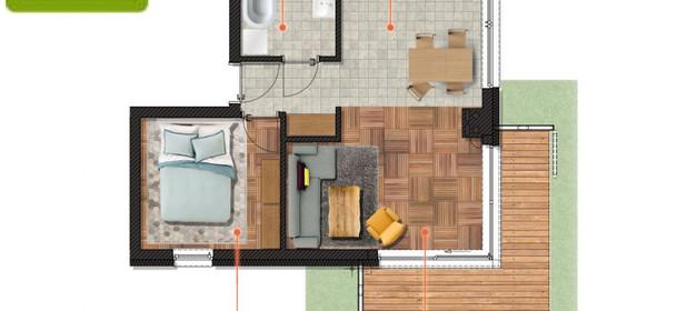 Mieszkanie na sprzedaż 47 m² Gliwice Obrońców Pokoju - zdjęcie 1