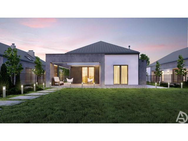 Morizon WP ogłoszenia | Dom w inwestycji OSIEDLE AURA, Świlcza, 130 m² | 6229