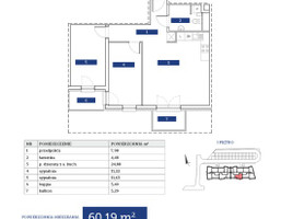 Morizon WP ogłoszenia | Mieszkanie na sprzedaż, Kiełczów, 60 m² | 3216