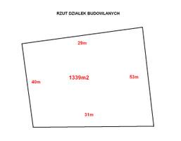 Morizon WP ogłoszenia | Działka na sprzedaż, Kobylnica, 1339 m² | 9540