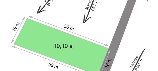 Działka na sprzedaż 1015 m² Nowy Sącz Poręba Mała Gorczańska - zdjęcie 2