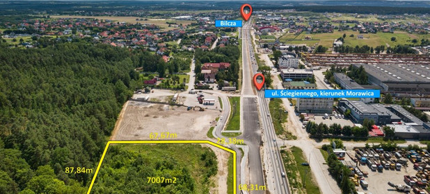 Działka na sprzedaż 7007 m² Kielecki Morawica Bilcza - zdjęcie 3