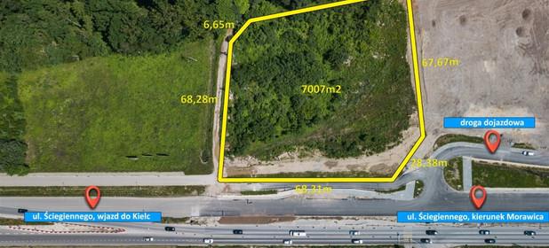 Działka na sprzedaż 7007 m² Kielecki Morawica Bilcza - zdjęcie 2