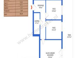 Morizon WP ogłoszenia | Mieszkanie na sprzedaż, Bydgoszcz Szwederowo, 58 m² | 7426