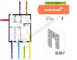 Morizon WP ogłoszenia | Mieszkanie na sprzedaż, Warszawa Praga-Południe, 59 m² | 3288