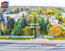 Morizon WP ogłoszenia   Działka na sprzedaż, Czapury Poznańska, 4994 m²   8623
