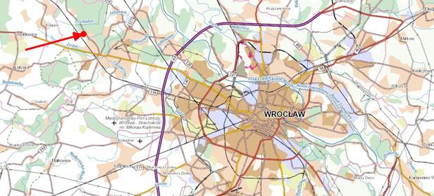Działka na sprzedaż 1250 m² Wrocław Fabryczna Leśnica Dolnobrzeska - zdjęcie 1