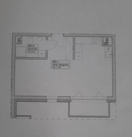 Morizon WP ogłoszenia | Kawalerka na sprzedaż, Szczecin Gumieńce, 33 m² | 6778