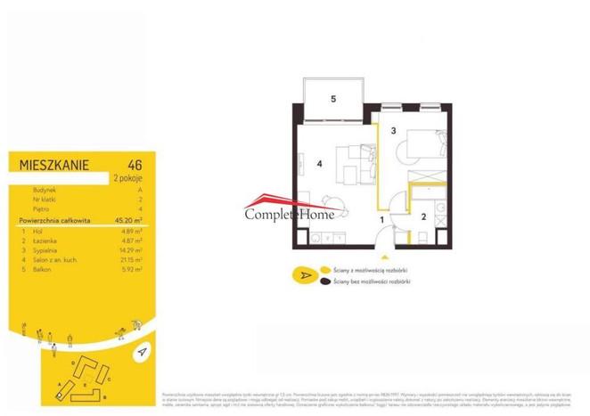 Morizon WP ogłoszenia | Mieszkanie na sprzedaż, Warszawa Mokotów, 45 m² | 4932