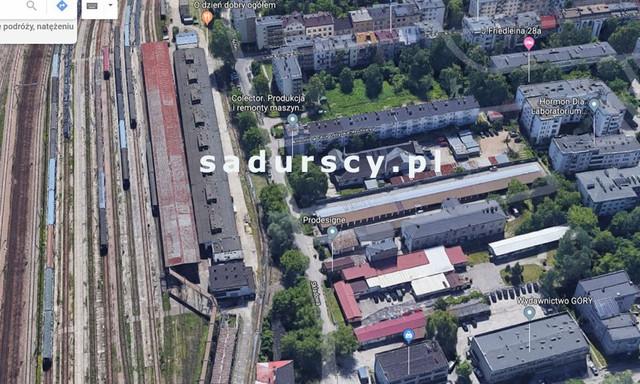 Działka na sprzedaż <span>Kraków M., Kraków, Krowodrza, Łobzów, Składowa</span>