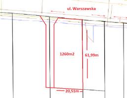 Morizon WP ogłoszenia | Działka na sprzedaż, Wojcieszyn Warszawska, 1260 m² | 5944