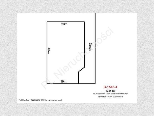 Morizon WP ogłoszenia | Działka na sprzedaż, Pruszków, 1044 m² | 8094