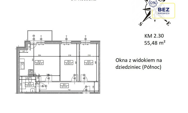 Mieszkanie na sprzedaż <span>Głogowski, Głogów, Juliusza Kossaka</span>