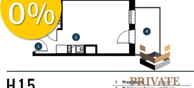 Mieszkanie na sprzedaż 25 m² Wrocław Brzoskwiniowa - zdjęcie 2