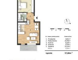 Morizon WP ogłoszenia | Mieszkanie w inwestycji Osiedle Słoneczne, Bydgoszcz, 58 m² | 9318