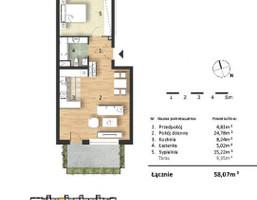 Morizon WP ogłoszenia | Mieszkanie w inwestycji Osiedle Słoneczne, Bydgoszcz, 58 m² | 9316