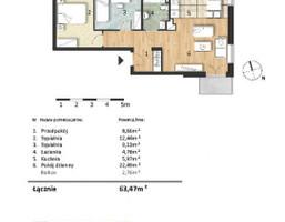 Morizon WP ogłoszenia | Mieszkanie w inwestycji Osiedle Słoneczne, Bydgoszcz, 63 m² | 9301
