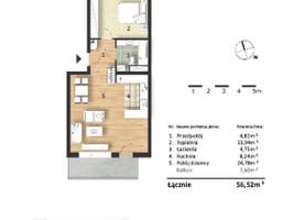 Morizon WP ogłoszenia | Mieszkanie w inwestycji Osiedle Słoneczne, Bydgoszcz, 57 m² | 9311
