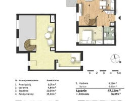 Morizon WP ogłoszenia | Mieszkanie w inwestycji Osiedle Słoneczne, Bydgoszcz, 86 m² | 9340