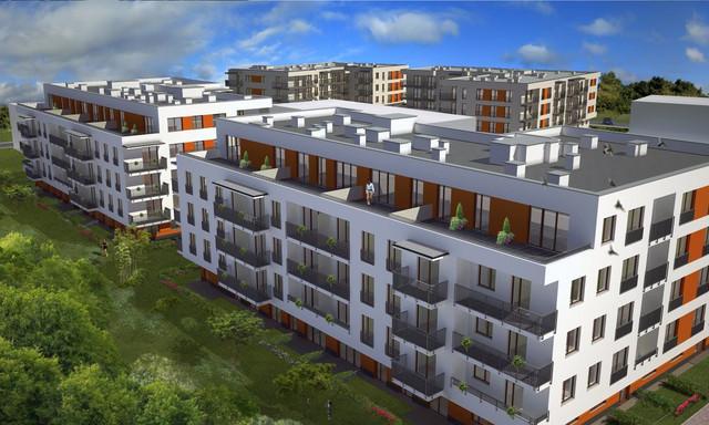 Mieszkanie na sprzedaż <span>Kraków, Os. Kliny Zacisze, ul. bpa A. Małysiaka/ul. Komuny Paryskiej</span>